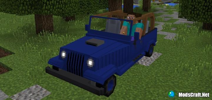Мод Jeeps Addon 1.0/0.17.0