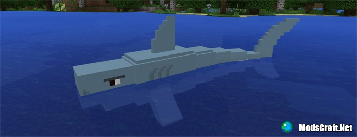 Мод Jaws and Megalodon 1.0/0.17.0