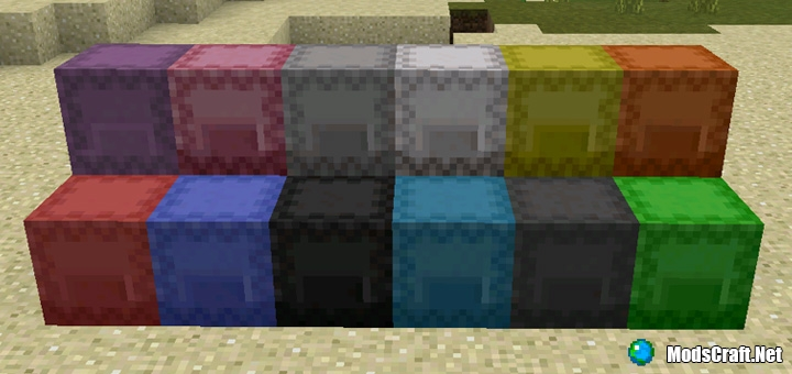 Мод Shulker Boxes 1.0