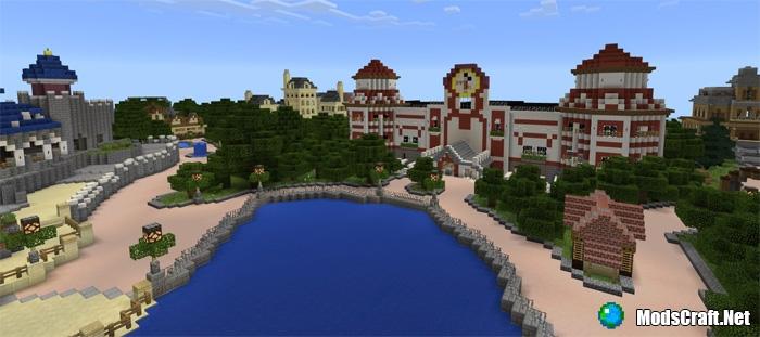 Карта DisneyPark [Творчество]