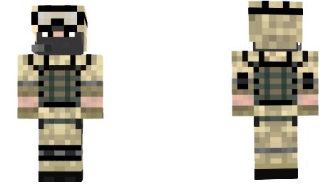 Desert Camo Soldier