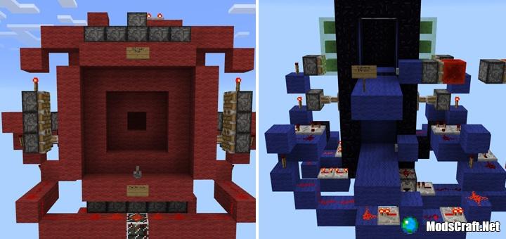 Карта 5 Complex Redstone Creations [Редстоун]