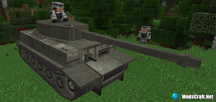 Мод War Tank 1.0/0.17.0