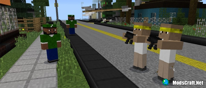 Мод GTA Street Wars 1.0/0.17.0