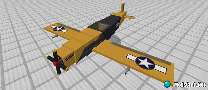 Мод War Plane 1.1/1.0/0.17.0/0.16.1