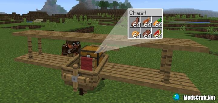 Мод Wooden Plane 1.0/0.17.0/0.16.1
