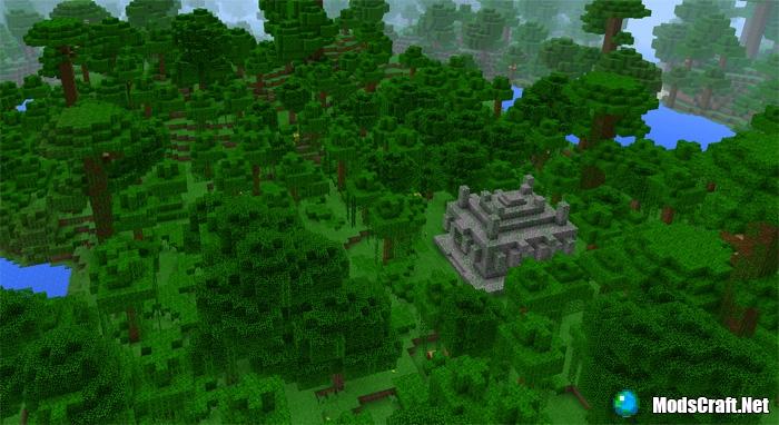 Древний Храм в джунглях возле спауна [1.0/0.16.1]