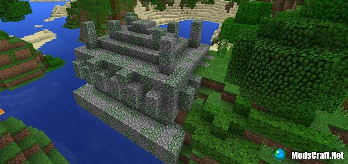 Спаун над храмом в джунглях