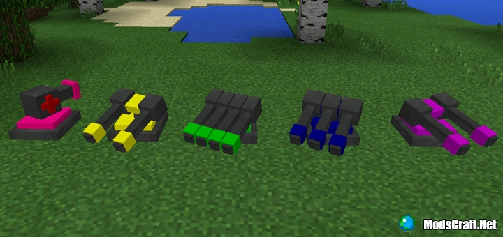 Мод Protective Turrets 1.0