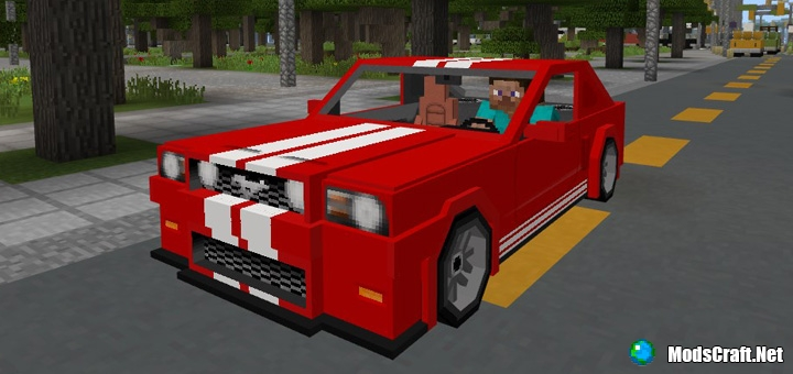 Мод Sports Car: Ford Mustang 1.1/1.0/0.17.0