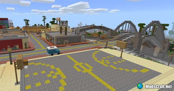 Карта GTA San Andreas [Творчество]