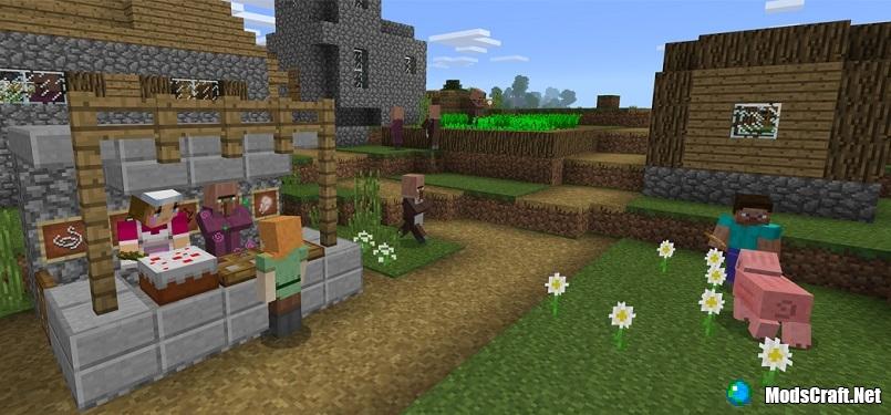 Торговля с жителями теперь в Minecraft PE/Win 10!