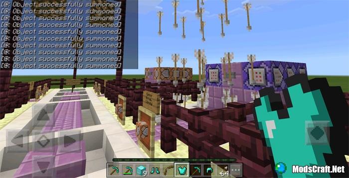 Карта 10 Command Block Creations [Редстоун]