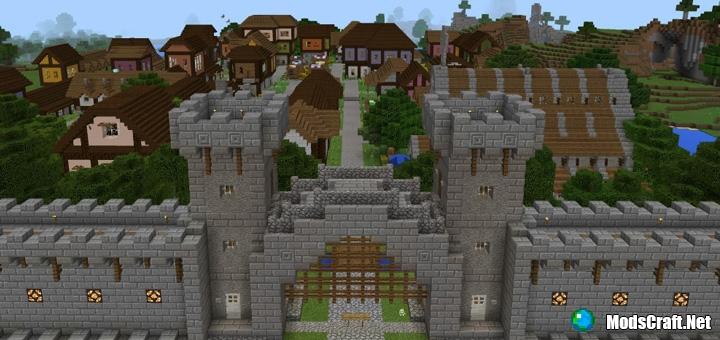 Карта Castle Adventure [Приключение]