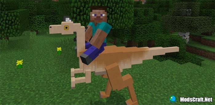 Мод Jurassic Craft 1.1/1.0/0.16.1