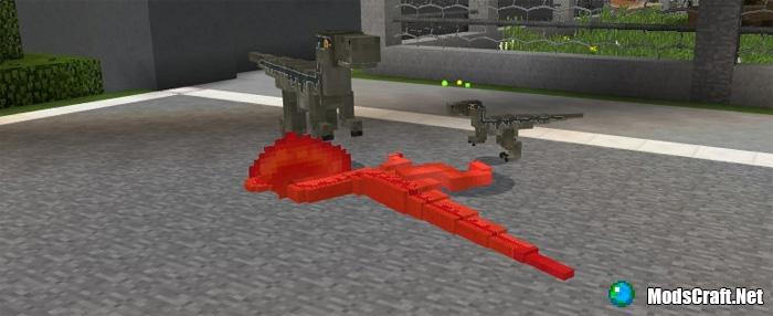 Мод Jurassic Craft 1.1/1.0/0.17.0/0.16.1