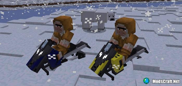Мод Snowmobile 1.0/0.17.0/0.16.1