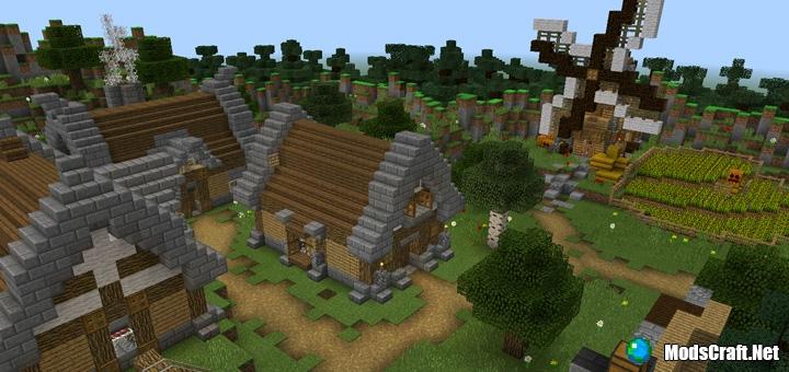 Карта Murder Mystery Village 1.0.5+ [Мини-игра]