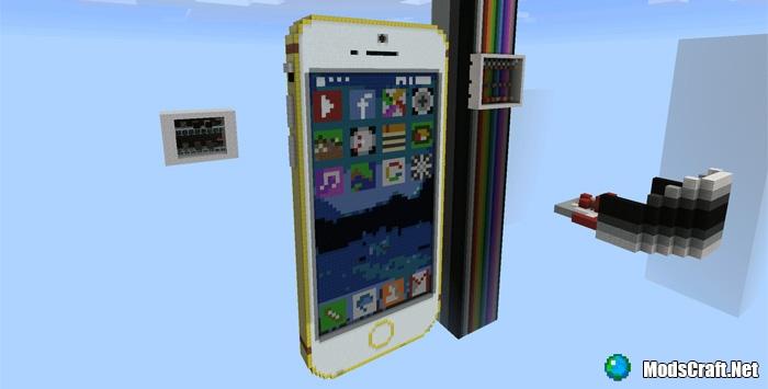 Карта Working iPhone 6 1.0.6+ [Редстоун]