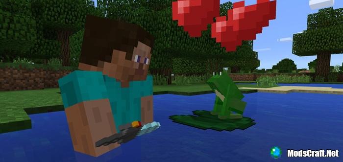 Мод Mine-Frog 1.0