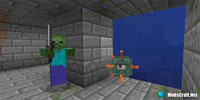 Подводная крепость и монумент [1.1/1.0]