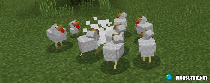 Мод Evil Chicken 1.1