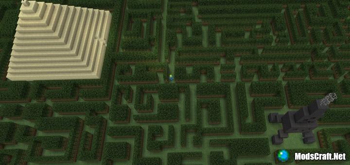 Карта The Three Mazes [Мини-игра]