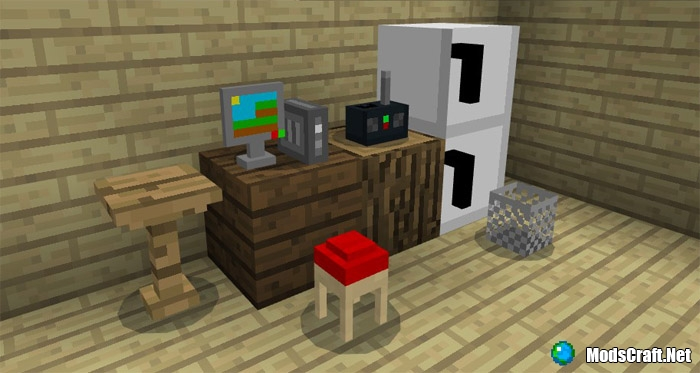 Мод Mine-Furniture 1.1