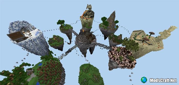 Карта Glide PvP (Sky Islands) [PvP]