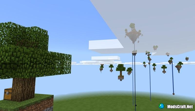 Карта zUsHa's SkyBlocks [Выживание]
