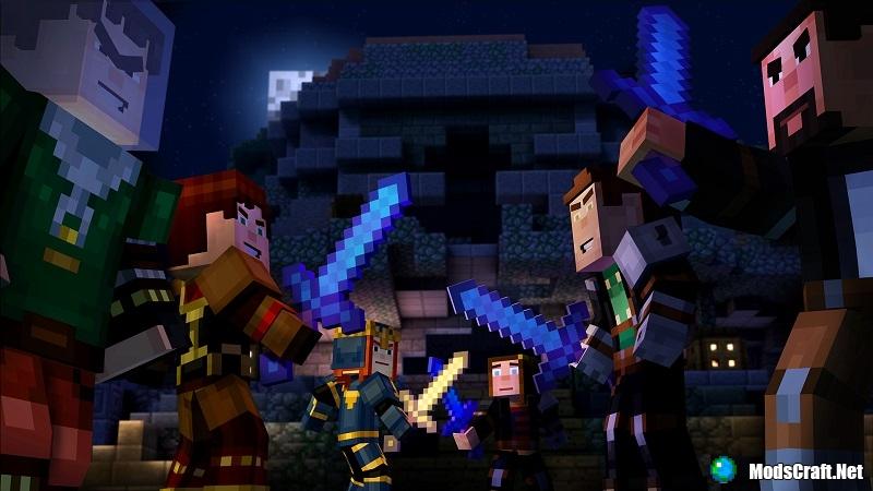 Minecraft: Story Mode [1 сезон]