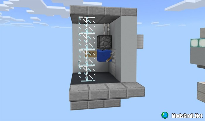 Карта 10 Redstone Contraptions for Houses [Редстоун]