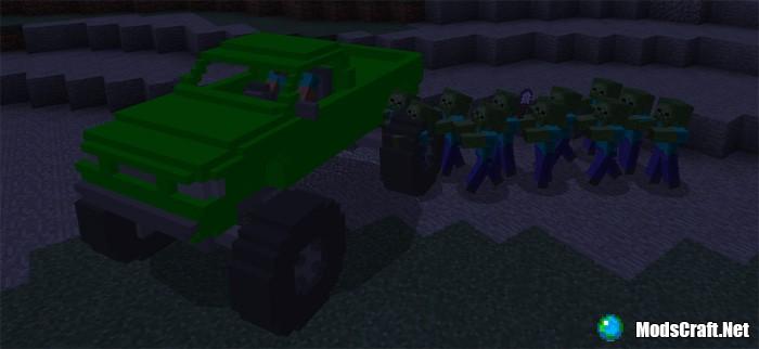 Мод MonsterTruck 1.1