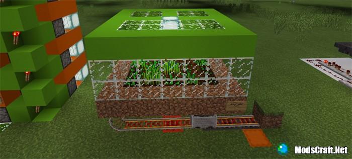 Карта 10 Automatic Farms [Механизмы]