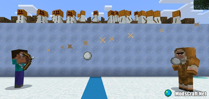Карта Snowball Brawl [Мини-игра]