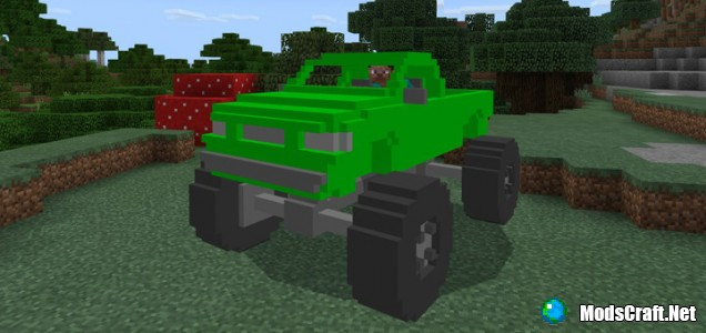 Мод MonsterTruck 1.1