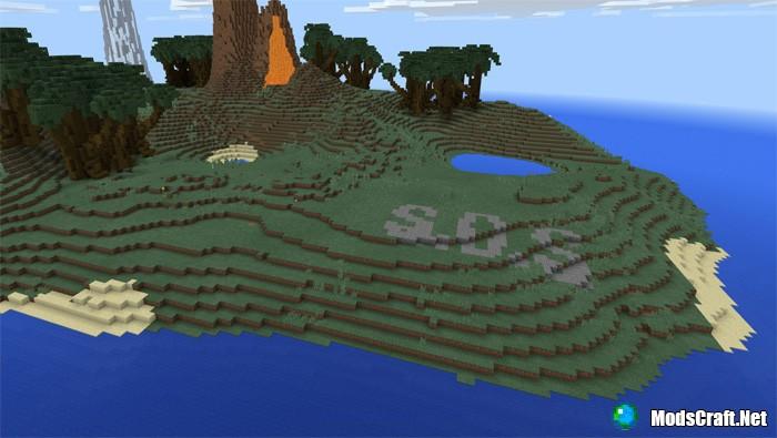 Карта Desolation [Кастомный ландшафт] [Выживание]