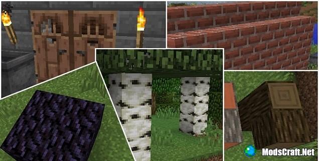 Обновленные текстуры блоков в Minecraft!