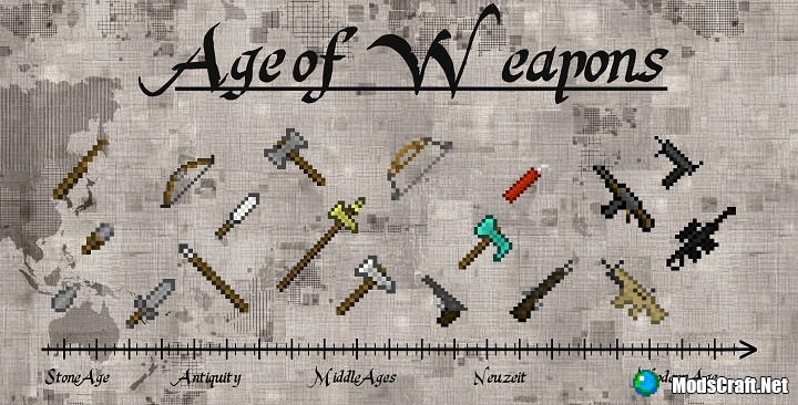 Мод Age of Weapons 1.11.2