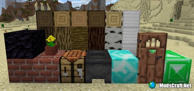 Текстур пак Minecraft 1.13 (Концепт) 1.1