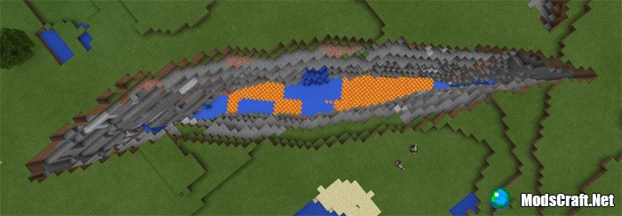 Огромный каньон и деревня [1.2+]