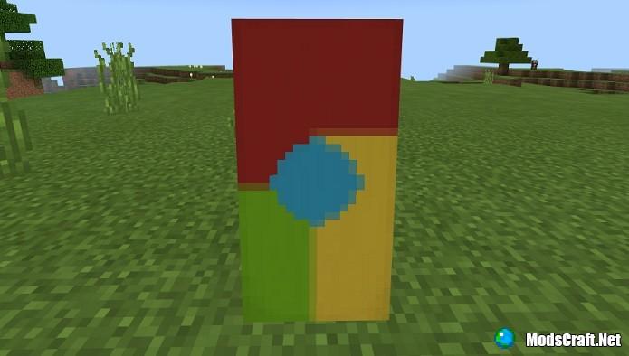 Minecraft 1.2: Пять крутых дизайнов флагов!