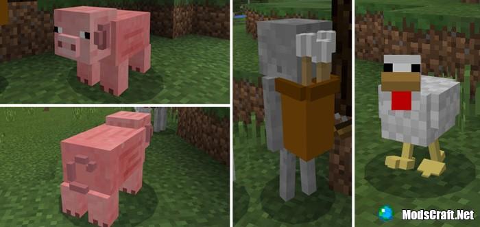 Текстур пак 3D Mob Pack 1.2