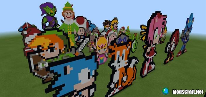 Карта Pixel Playground [Творчество]