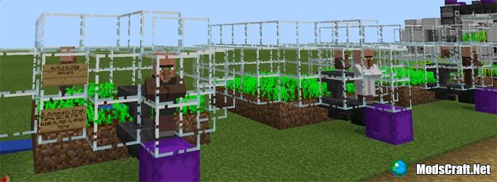 Карта 16 Useful Farms [Редстоун]