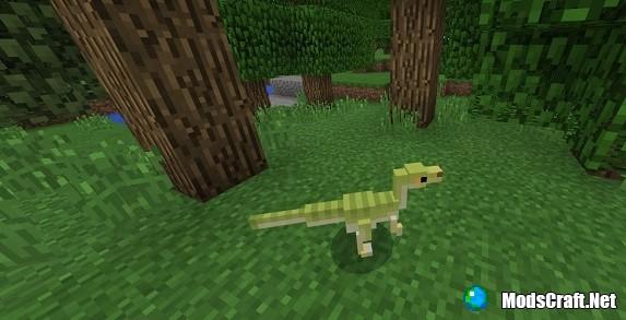 Мод Dinosaurs 1.4/1.2/1.1