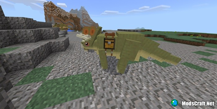 Мод Dinosaurs 1.2/1.1