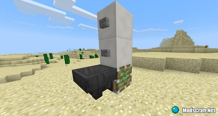 Как сделать рабочий душ в Minecraft?
