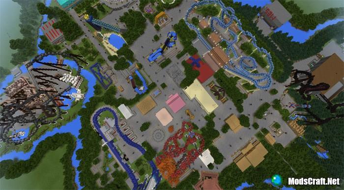 Карта Thorpe Park [Творчество]