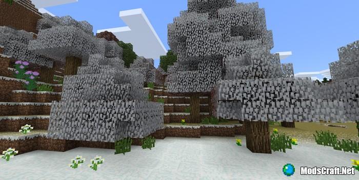 Мод Seasons Add-on 1.2/1.1